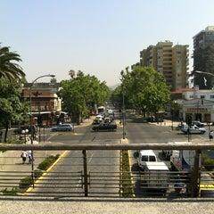 Photo taken at Plaza Pedro de Valdivia by Julio Alberto C. on 11/14/2012