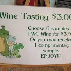 Photo taken at Flickerwood Wine Cellars by Faye O. on 8/9/2013
