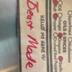Photo taken at Which Wich? Superior Sandwiches by Mukhtar V. on 11/28/2012