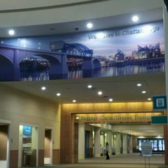 Photo taken at Chattanooga Metropolitan Airport (CHA) by Tracy L. on 11/12/2012