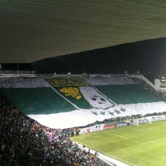 Photo taken at Estadio León by Chino on 1/23/2013