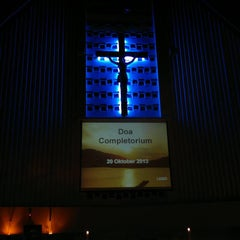 Photo taken at Gereja St. Ignatius Loyola by Stephanus W. on 10/20/2013