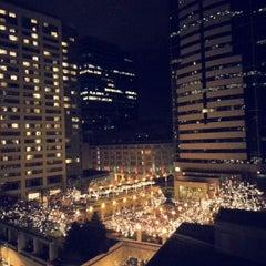Photo taken at Hilton Seattle by Nenny on 1/1/2013