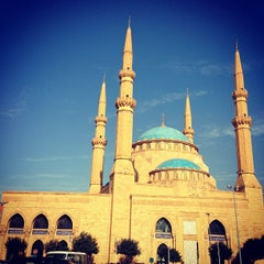 Photo taken at Mohammed Al-Amin Mosque by Mhd S. on 1/4/2013