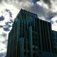 Photo taken at Eastern Columbia Lofts by Arjan W. on 1/28/2013