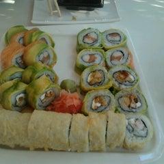 Photo taken at Niu Sushi by Claudia M. on 10/11/2012