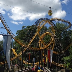 Photo taken at Loch Ness Monster - Busch Gardens by Kevin P. on 8/15/2013