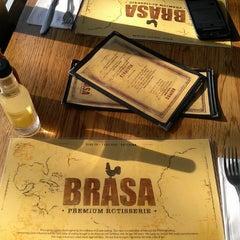 Photo taken at Brasa Premium Rotisserie by Eric W. on 3/2/2013