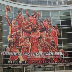 Photo taken at Toyota Center by John P. on 5/26/2013