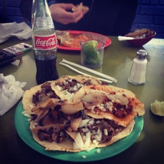 Photo taken at Taqueria El Rey Del Taco by Junior on 12/12/2013