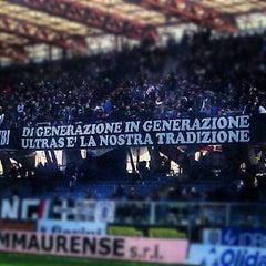 Photo taken at Orogel Stadium Dino Manuzzi by Filippo P. on 3/2/2013
