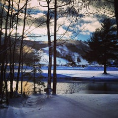Photo taken at Gunstock Mountain Resort by Tyler M. on 12/28/2012