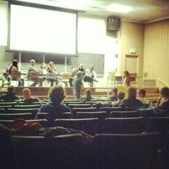 Photo taken at UCLA Rolfe Hall by Jack J. on 11/20/2012