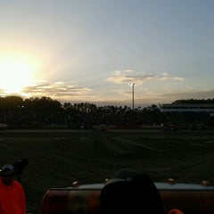 Photo taken at Delaware International Speedway by Aaron C. on 10/20/2012