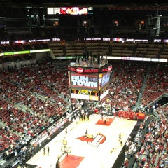 Photo taken at KFC Yum! Center by Steven V. on 1/29/2013