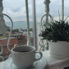 Photo taken at Romantic Hotel Istanbul by Furkan Ü. on 10/3/2015