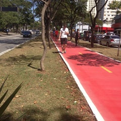 Photo taken at Ciclovia Sumaré/Paulo VI by Tatiana S. on 8/24/2014