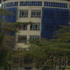 Photo taken at Kenyatta University Post Modern Library by So_ski on 5/18/2013