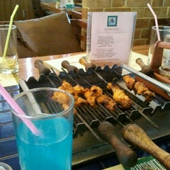 Photo taken at Barbeque Nation by Mohamed F. on 10/9/2012