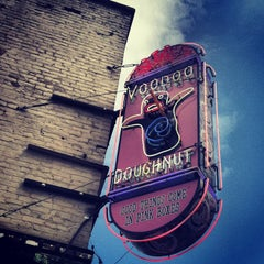Photo taken at Voodoo Doughnut by Heather S. on 5/25/2013