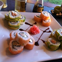 Photo taken at Raiön Sushi by Cecilia B. on 10/3/2012