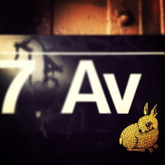 Photo taken at MTA Subway - 7th Ave (B/Q) by David B. on 12/13/2012