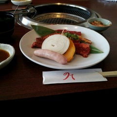 Photo taken at 炭火焼肉 のて 豊中庄内店 by 雅章 吉. on 9/17/2012
