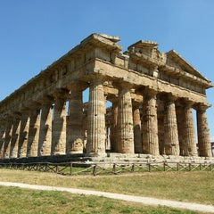 Photo taken at Area Archeologica di Paestum by Anton B. on 7/3/2013