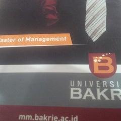 Photo taken at Universitas Bakrie by Muhammad S. on 6/16/2015