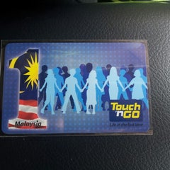 Photo taken at Penang Bridge Touch 'n Go Sales Centre by Rex T. on 2/15/2014