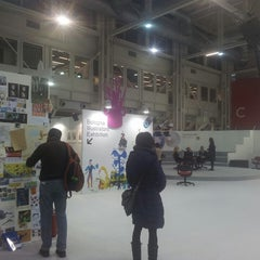 Photo taken at Bologna Children's Book Fair by Filippo O. on 3/28/2013