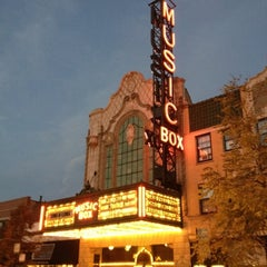 Photo taken at Music Box Theatre by Bruce C. on 10/16/2012
