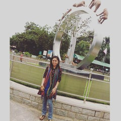 Photo taken at Nehru Zoological Park by Ikang M. on 9/20/2015