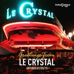 Photo taken at Le Crystal by Claudio P. on 5/1/2015