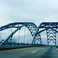 Photo taken at Luther Draffen Bridge by Jackson R. on 11/29/2014