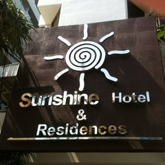 Photo taken at Sunshine Hotel & Residences by Alexandr T. on 3/20/2013