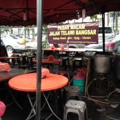 Photo taken at Pasar Malam Bangsar by DyanaAshraff on 10/28/2012