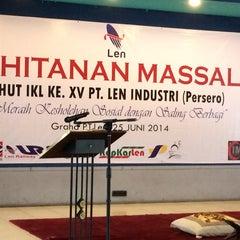 Photo taken at PT. LEN Industri (Persero) by Anggiat N. on 6/25/2014