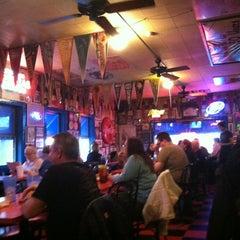 Photo taken at Hut's Hamburgers by Scott on 12/28/2012