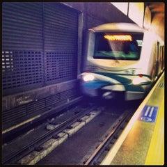 Photo taken at Estação Ana Rosa (Metrô) by Temistocles S. on 3/13/2013