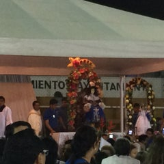 Photo taken at Iglesia Santo Niño De Atocha by Erik G. on 1/7/2015