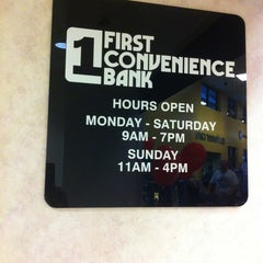 Photo taken at First Convenience Bank Kroger by Marie-Térese S. on 6/22/2013