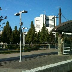 Photo taken at Baylor Medical Center Station (DART Rail) by Marie-Térese S. on 10/21/2012