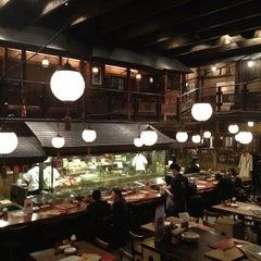 Photo taken at 権八 西麻布店 by Sebastien L. on 2/15/2013