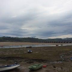 Photo taken at San Vicente de la Barquera by isabelherrerar on 5/2/2015