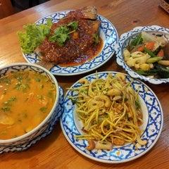 Photo taken at Nakhon Kitchen by HANA F. on 5/20/2013