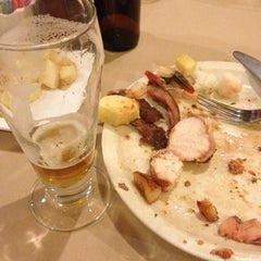 Photo taken at Green Forest Brazilian Restaurant by John L. on 10/26/2012