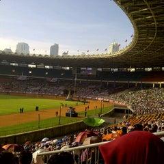 Photo taken at Stadion Utama Gelora Bung Karno (GBK) by Afifah Z. on 3/30/2013