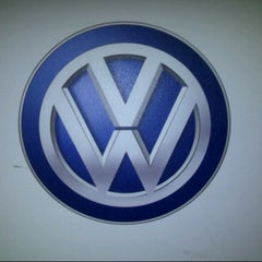 Photo taken at Volkswagen by Cheché C. on 12/18/2013