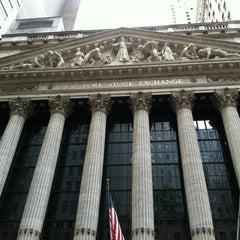 Photo taken at New York Stock Exchange by Nikita on 6/28/2013